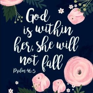 Other - God is Within Her, She Will Not Fall